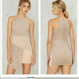 Rare London Nude Color Block Dress